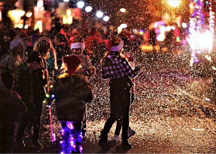 Parade of Lights Guerneville
