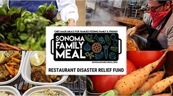 Sonoma Family Meal fundraiser